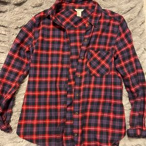 Forever 21 size small plaid button up